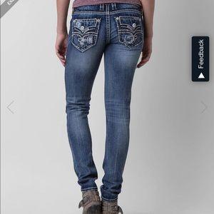 Rock Revival Raven Skinny Jeans NWOT